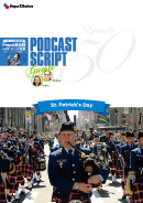 Podcast Script for episode 50「St. Patrick's Day」
